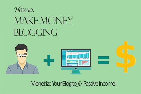 How to Make Money Blogging - Monetize Your Blog Passive Income