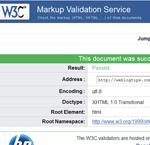 HTML Site Validation