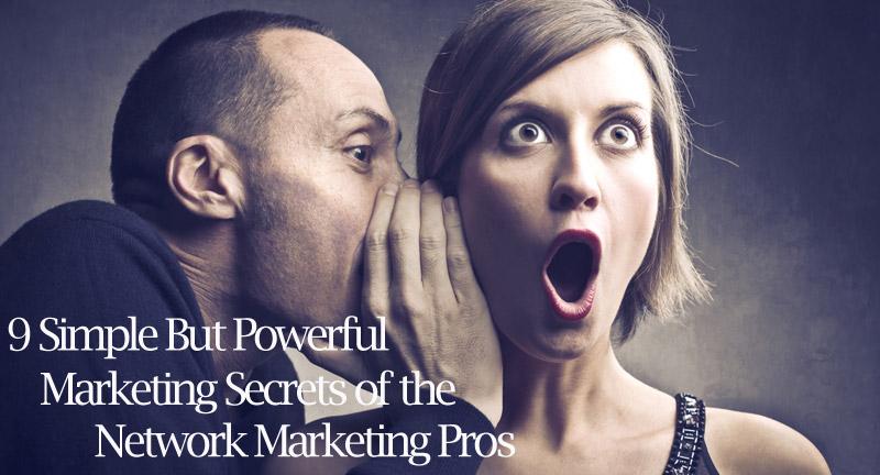 Pelajaran dari pemasaran jaringan