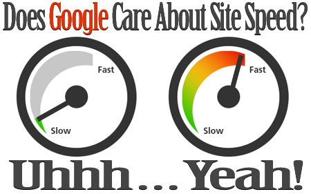 Does Google Care About Your Site Speed?