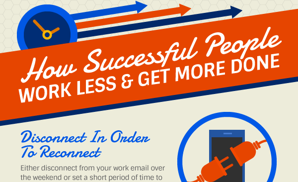 How Entrepreneurs Can Work Less and Get More Done [Infographic]