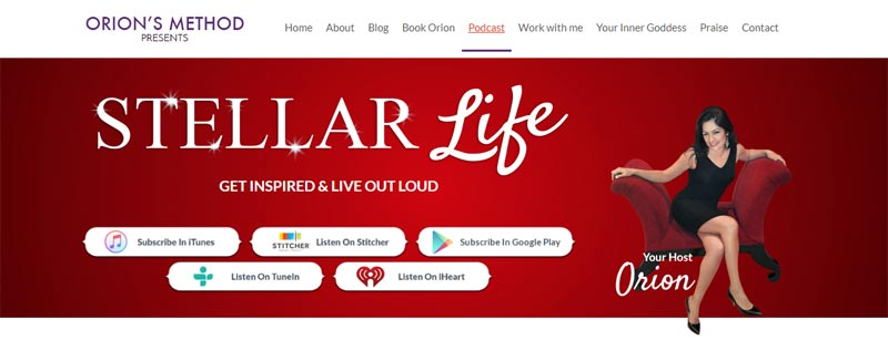 Stellar Life Podcast - Get Inspired & Live Out Loud