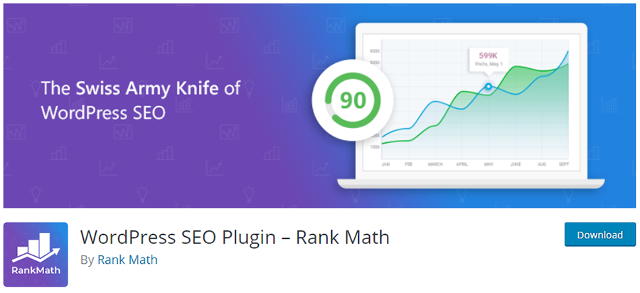 RankMath - The Swiss Army Knife of WordPress SEO