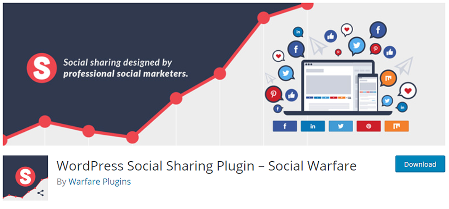 SocialWarfare - Social Sharing Plugin for Professional Social Marketers