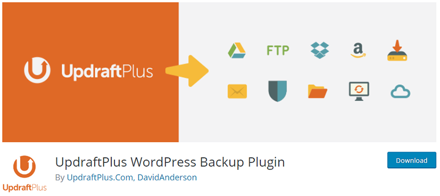 UpdraftPlus - WordPress Backup Plugin