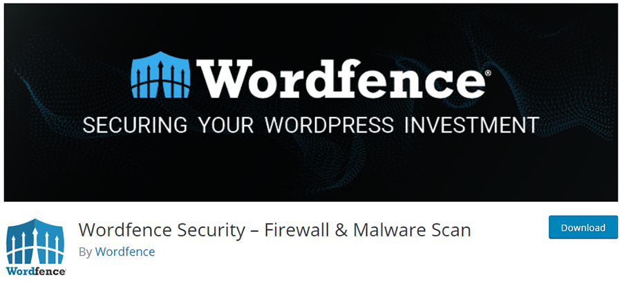 Wordfence Security - Anti-virus, Firewall and Malware Scan